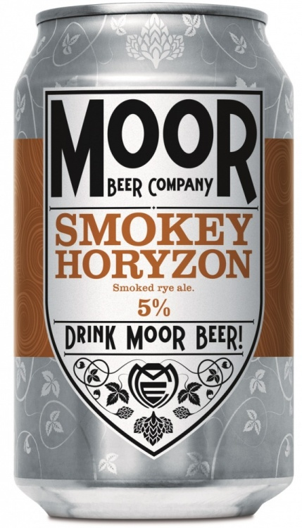 Moor Smokey Horyzon 5% 12 x 330ml Cans