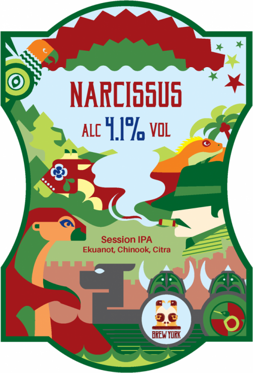 Brew York Narcissus 4.1% 9g
