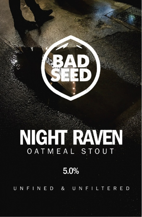 Bad Seed Night Raven 5% 9g (E-Cask)