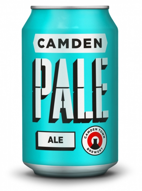 Camden Pale Ale 4% 24 x 330ml Cans