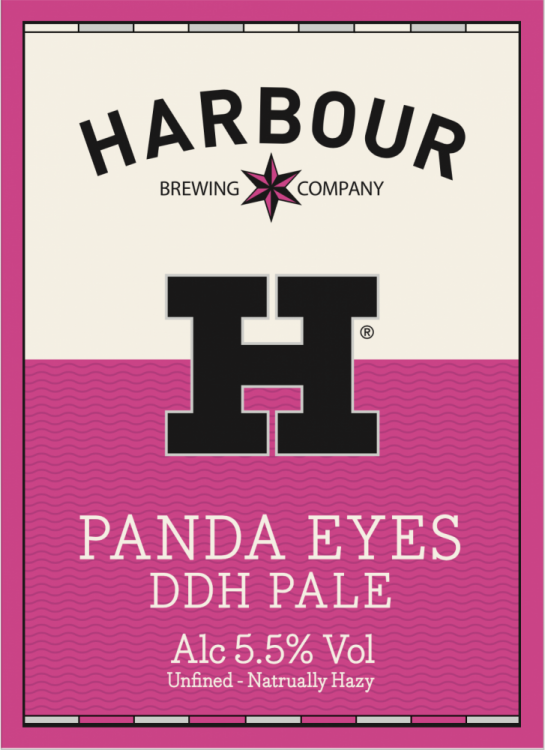 Harbour Panda Eyes 5.5% 9g (E-Cask)