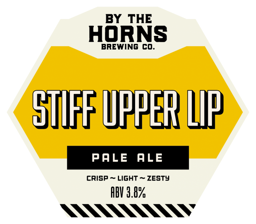 By The Horns Stiff Upper Lip 3.8% 9g (KS-Cask)