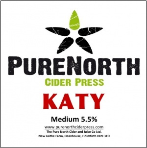 Pure North Katy Cider 5.5% 20L BIB