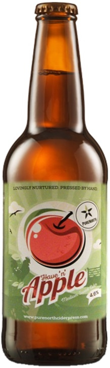 Pure North Have 'N' Apple Medium Cider 4.6% 12 x 500ml Bottles