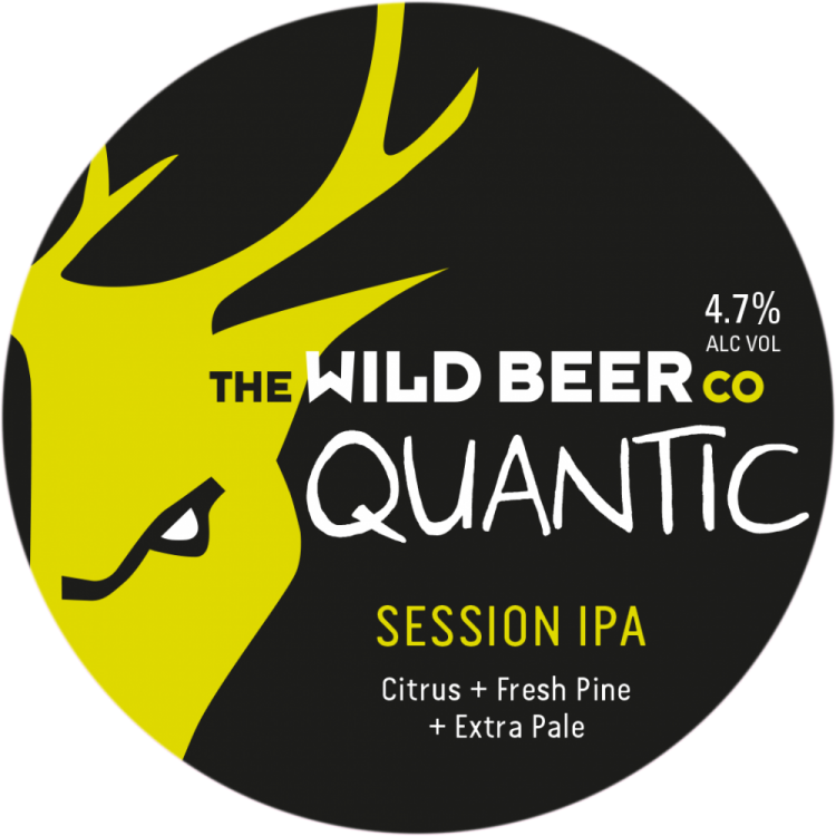 Wild Beer Co Quantic 4.7% 30L (E-Keg)