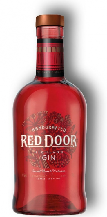 Benromach Red Door Gin 45% 1 x 70cl Bottle