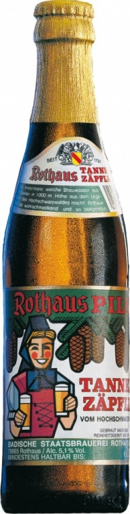 Rothaus Pils Tannenzäpfle 5.1% 1 x 330ml Bottles