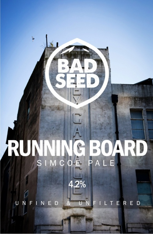 Bad Seed Running Board 4.2% 9g (E-Cask)