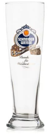 Schneider Weiss Half Pint Glass - Box of 6 FOR DRAUGHT CUSTOMERS ONLY
