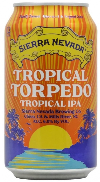 Sierra Nevada Tropical Torpedo 6% 1 x 355ml Cans