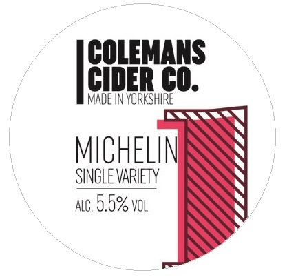 Colemans Michelin Cider 5.5% 20L BIB