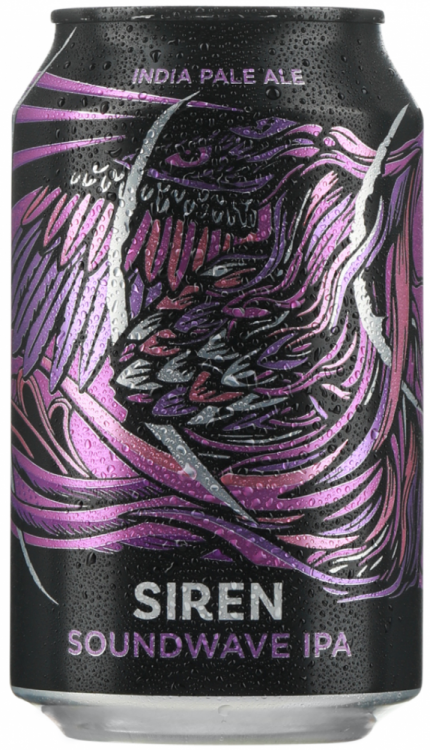 Siren Sound Wave 5.6% 12 x 330ml CANS