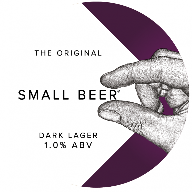 Small Beer Dark Lager 1% 30L (Keg-Star)