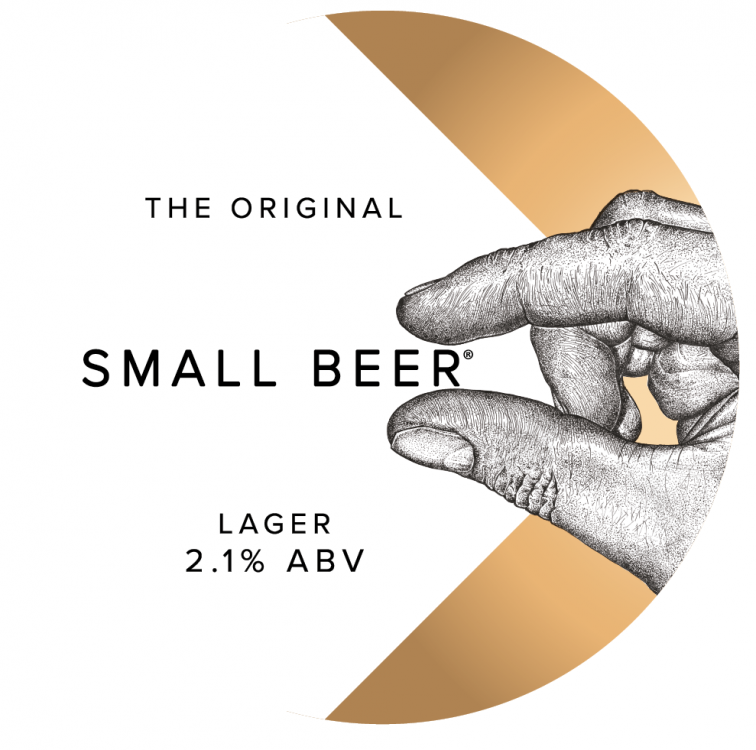 Small Beer Lager 2.1% 30L (Keg-Star)