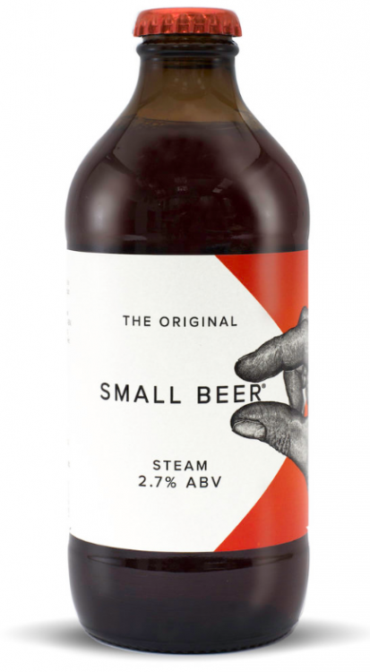 Small Beer Steam 2.7% 24 x 350ml Bottles