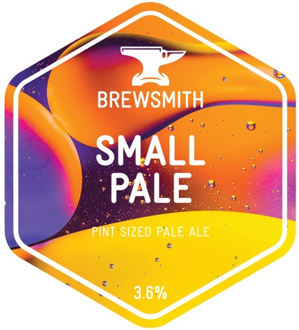 Brewsmith Small Pale 3.6% 9g (KS-Cask)