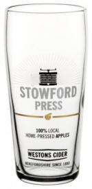 Westons Stowford Press Half Pint Glass (Box of 12)