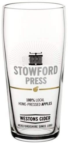 Westons Stowford Press Pint Glass (Box of 12)