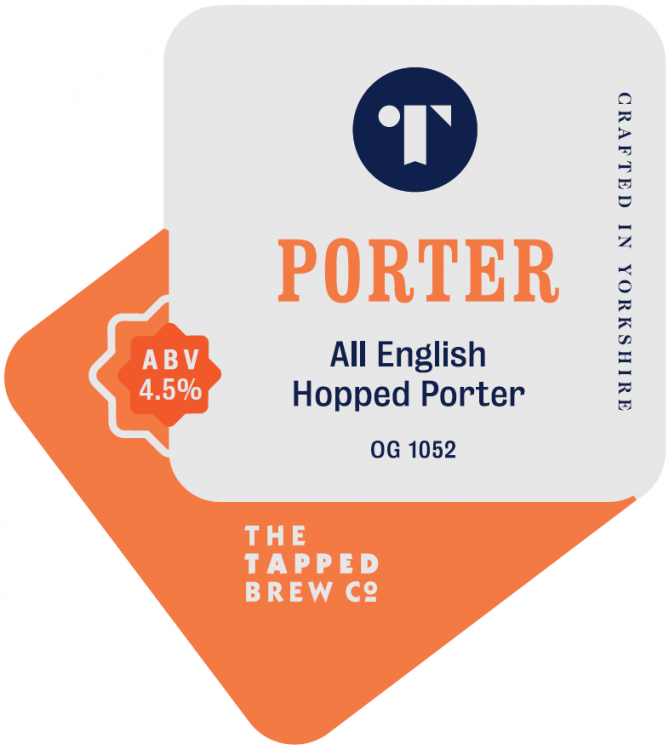 Tapped Brew Co Porter 4.5% 9g