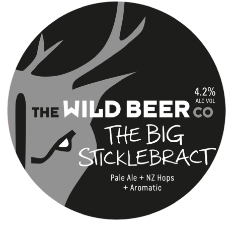 Wild Beer Co The Big Sticklebract 4.2% 9g (E-Cask)