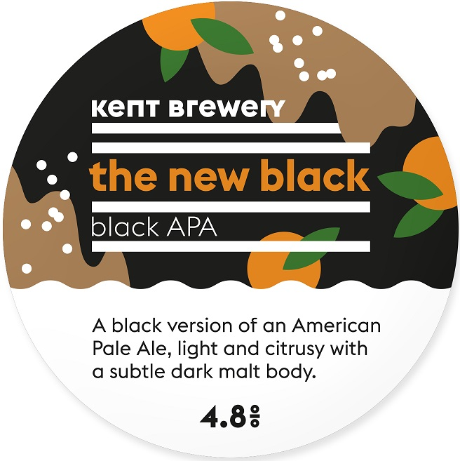 Kent Brewery The New Black 4.8% 9g