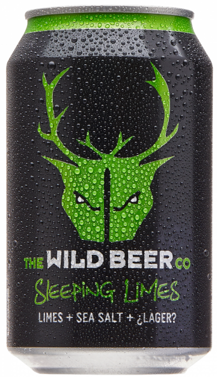 Wild Beer Co Sleeping Limes 4.5% 24 x 330ml Cans