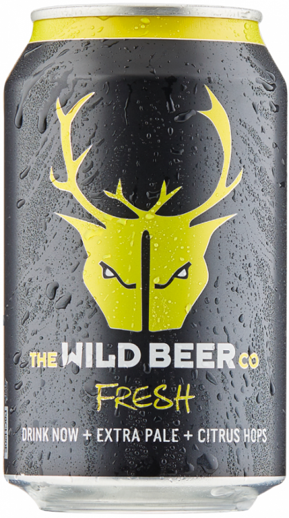 Wild Beer Co Fresh 5.5% 24 x 330ml Cans