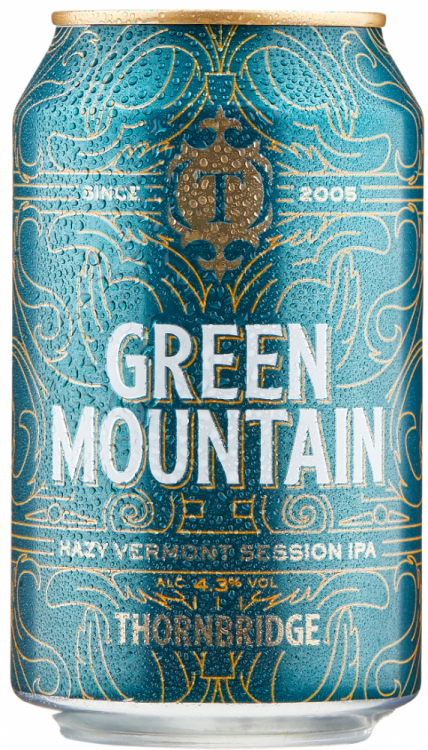Thornbridge Green Mountain 4.3% 12 x 330ml Cans