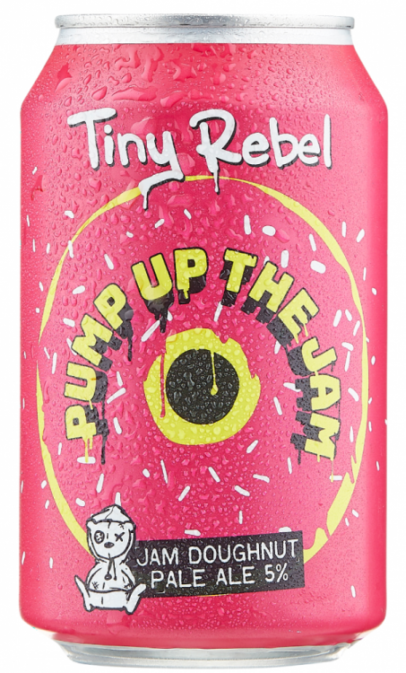 Tiny Rebel Pump Up The Jam 5% 24 x 330ml Cans