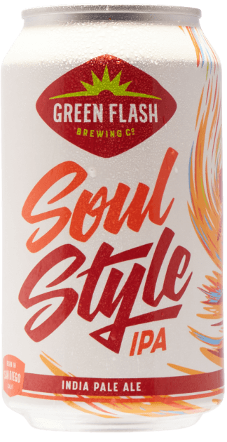 Green Flash Soul Style IPA 6.5% 12 x 355ml Cans