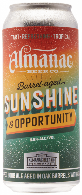 Almanac Sunshine & Opportunity 5.8% 12 x 473ml Cans