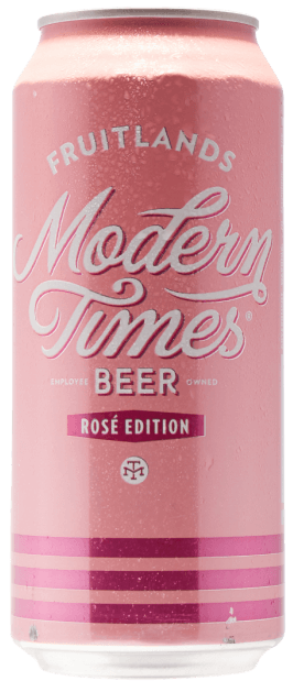 Modern Times Fruitlands Rosé Edition 4.8% 12 x 473ml Cans