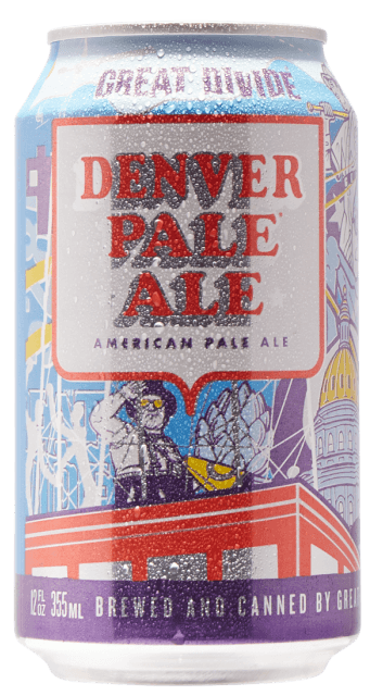 Great Divide Denver Pale Ale 5% 12 x 355ml Cans