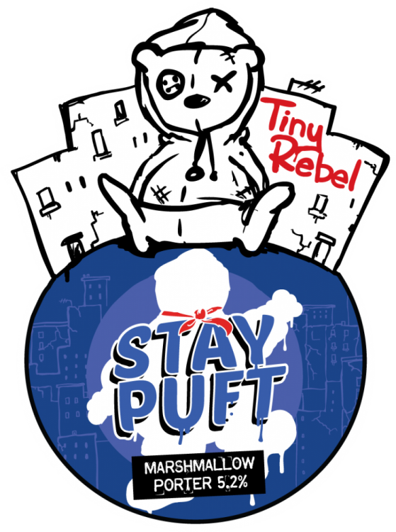 Tiny Rebel Stay Puft 5.2% 9g (E-Cask)