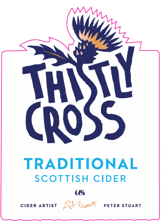 Thistly Cross Traditional Cider 4.4% Bag In Box