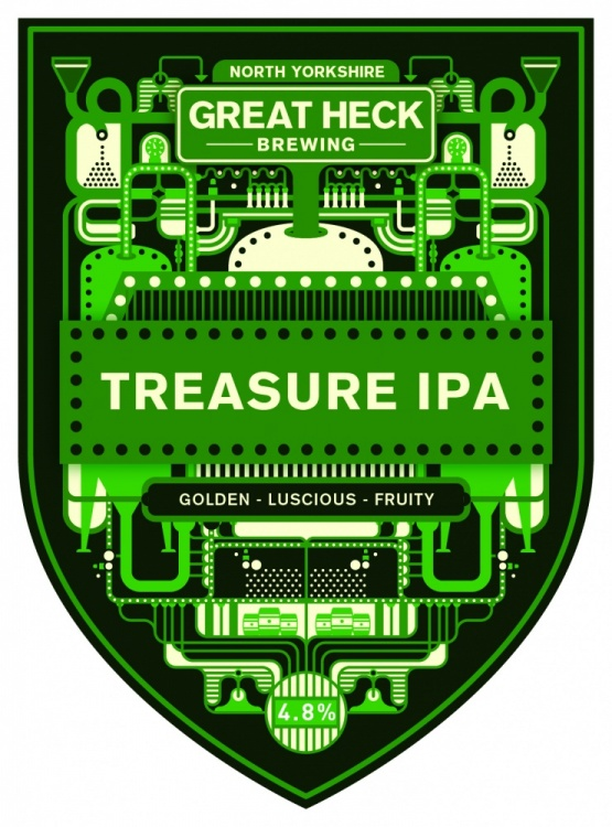 Great Heck Treasure IPA 4.8% 9g