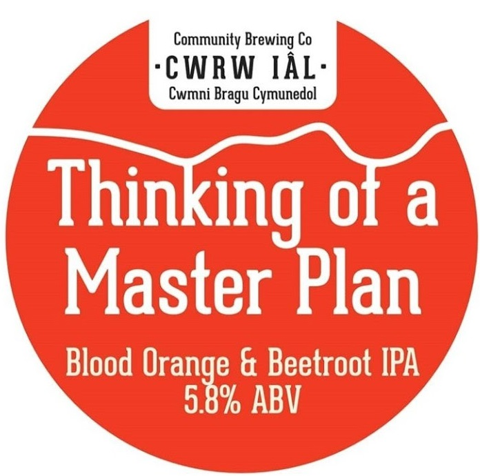 Cwrw Iâl Thinking of a Master Plan 5.8% 9g (E-Cask)