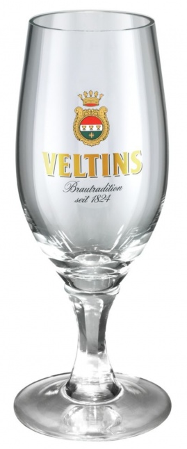Veltins Half Pint Stemmed Glass (12 Pack)  FOR DRAUGHT CUSTOMERS ONLY