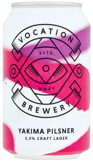 Vocation Yakima Pilsner 5.5% 1 x 330ml Cans