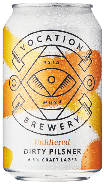 Vocation Dirty Pilsner 6.5% 12 x 330ml Cans