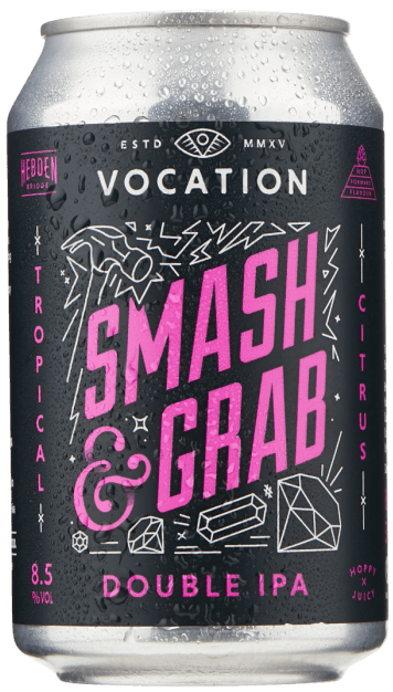 Vocation Smash & Grab 8.5% 1 x 330ml Cans
