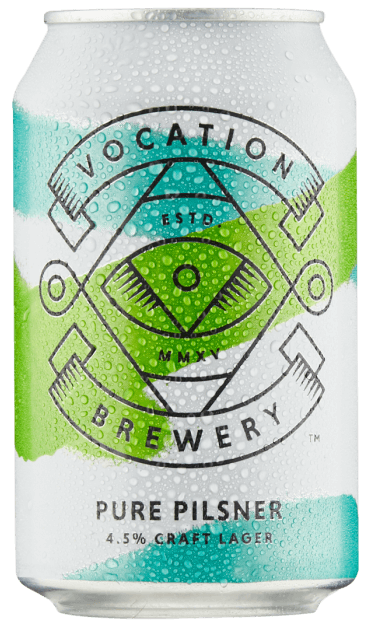Vocation Pure Pilsner 4.5% 12 x 330ml Cans