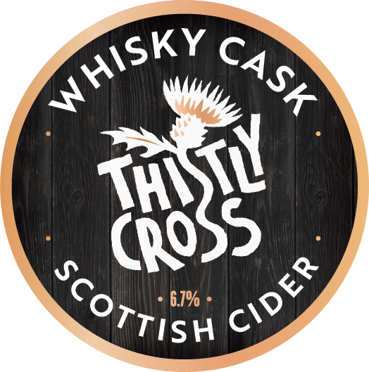 Thistly Cross Whisky Cask Matured Cider 6.7% 20L Bag in Box
