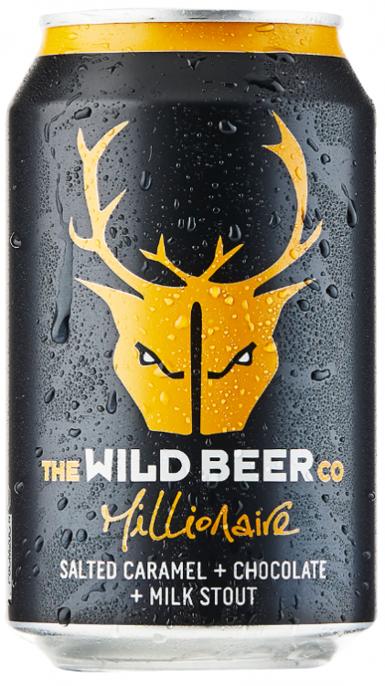 Wild Beer Co Millionaire 4.7% 24 x 330ml Cans