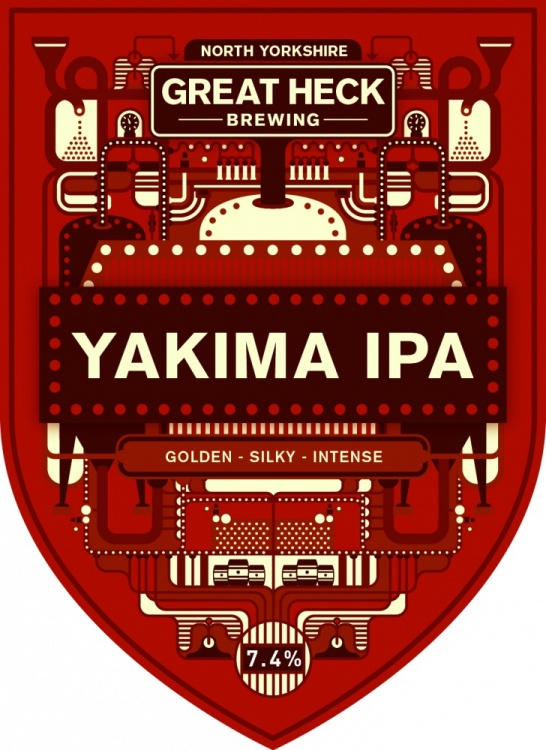 Great Heck Yakima IPA 7.4% 9g