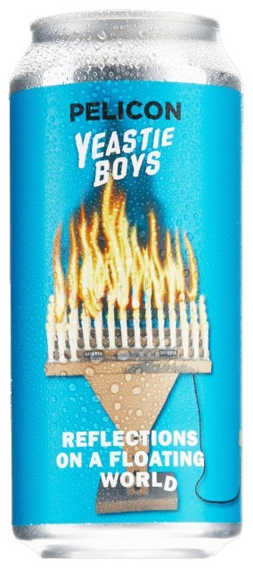 Yeastie Boys Reflections On A Floating World 6% 24 x 440ml Cans
